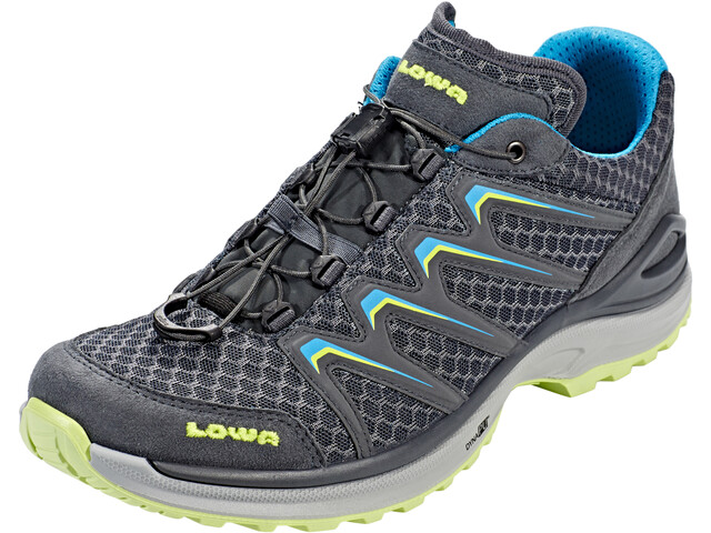 Lowa Maddox Low Shoes Damen anthracite/mint